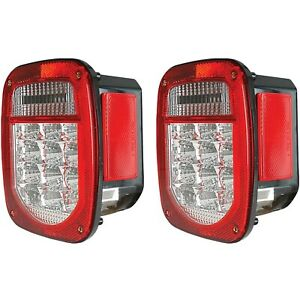861082 Anzo Set Of 2 Tail Lights Lamps Driver Passenger Side New Lh Rh Pair
