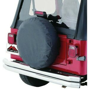 Tc272915 Rt Off Road Spare Tire Cover New For Jeep Wrangler Cj7 Cj5 Willys Cj6
