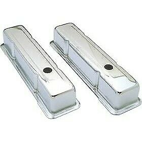 9300 Transdapt Set Of 2 Valve Covers New Chrome For Pontiac Grand Prix Am Pair