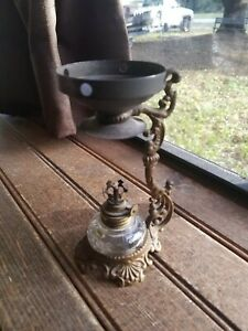 Antique 1880 S Vapo Cresolene Medical Oil Kerosene Lamp Vaporizer