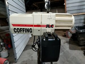 Coffing Electric Chain Hoist 1 2 Ton 15 Lift Item Is In Great Shape