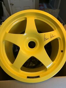 Rare Saleen Mustang Autographed And Serial Number Wheel 24 Of 50 From 2003