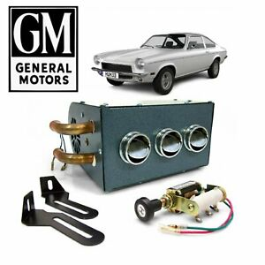 1971 80 Gm H body Under Dash Compact Heater Box Defroster Olds Buick Chevy Vega