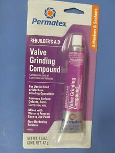 Permatex 80036 34a Valve Grinding Lapping Compound 1 5 Oz Tube