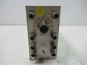 Tektronix Pg 501 Pulse Generator Plug in Module For Tm 500 Power Supply Chassis