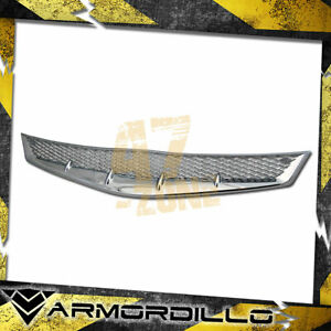 For 2006 2008 Honda Civic Abs Replacement Mesh Grille Chrome