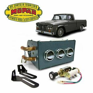 1961 80 Dodge D Series Truck Under Dash Auxiliary Cab Heater Box 426 Hemi V8 Css