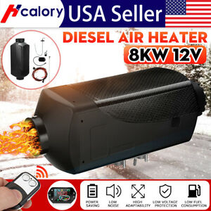 8kw 12v Lcd Thermostat Air Diesel Fuel Heater Control For Boats Trucks Trailer