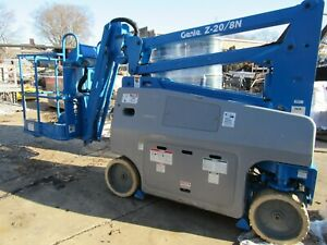 Genie Z 20 8n 26 Horizontal Articulating Boom Lift excellent Condition
