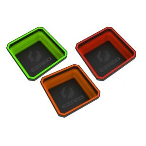 Collapsible Magnetic Parts Tray E Z Red Eztray Clr