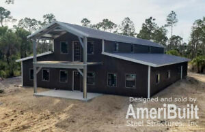 American Barn Style Home Shell Kit 5700 Sq Ft