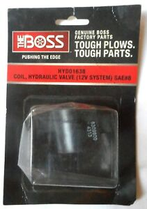 Boss Snow Plow Coil Hydraulic Valve 12v System Brand New