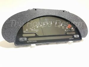 Abs Textured S2000 Cluster Conversion Bezel Ap1 Ap2 For 94 01 Dc Acura Integra