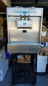 Taylor Soft Serve Ice Cream yogurt Machine Model 338 Air Cooled 3 Phase W Stand