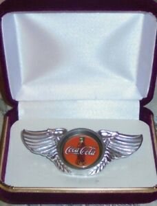 Coca Cola Service Employee Truck Driver Union Badge Pin Jacket Motorcycle Coke Z