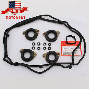 Oem Valve Cover Gasket Set Fit For 2013 2017 Honda Accord K24 12030 5a2 A01