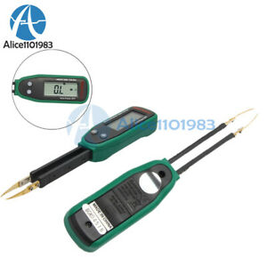 Ms8910 Multimeter Smd Tweezers R c diode Continuity Smart Smd Tester Auto scan
