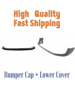 New Bumper Cover Combo Kit Upper Lower For 1994 2001 Dodge Ram 1500 2500 3500