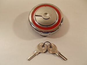 Borgward Isabella Gas Fuel Cap Locking Chrome