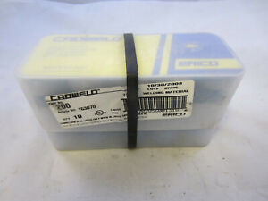 Lot Of 10 Erico Cadweld 200 Shot F20 Welding Material 87389