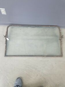 Model T Ford Used Windshield Glass In Condition Solid Frame