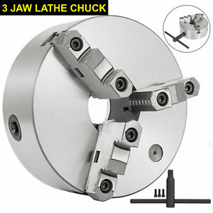 Self centering Lathe Chuck 3 Jaw 8 Inch For Milling K11 200a Hardened Steel Us