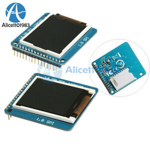 1 8 inch Serial Tft Spi St7735r 128 160 Lcd Display Module With Pcb For Arduino