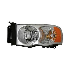 For Dodge Ram 1500 02 04 Pacific Best P52364 Driver Side Replacement Headlight