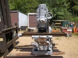 Milwaukee Kearney Trecker Model H Vertical Milling Machine Mill K
