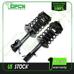 For 1993 02 Toyota Corolla 1 8l Front 2x Complete Shock Struts Spring Suspension