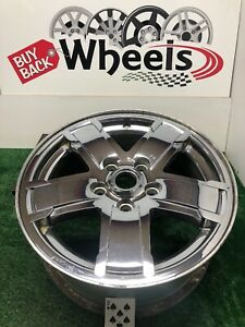 9054 17 Chrome Clad Jeep Grand Cherokee 2005 2007 Oem Wheel Rim Factory