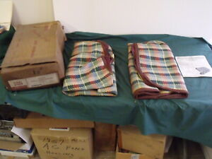 1956 1955 1954 1953 Ford Pickup Nos Seat Covers F 100 Accessory Fomoco Oem