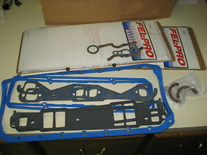 Engine Full Gasket Set Fel Pro 2812 Small Block Chevy Gen I 1975 79 Performance