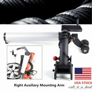 Tire Tyre Wheel Changer Machine Right Auxiliary Mounting Arm For 10cm Pin Length