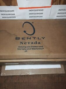 Bently Nevada Dual Vibration Xy gap Monitor P n 3300 16 03 01 03 00 00 00