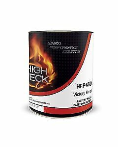 Victory Red Urethane Basecoat Paint Gm Wa9260 Gallon Hfp450 High Teck
