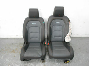 2017 17 18 19 Chevy Camaro Ss Leather Front Seat Set 5644