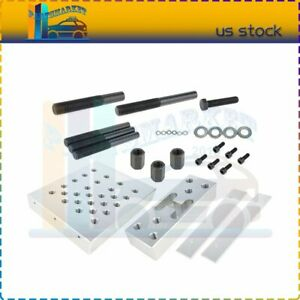 11 Pcs Universal Press Support Block Plate Bearing Bush Car Repair Tool Set