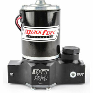 Quick Fuel 30 230qft Qft 230 Electric Fuel Pump 230 Gph Free Flow 7 Psi Draws