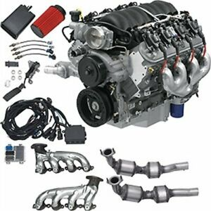 Chevrolet Performance 19370414 E rod Ls3 6 2l 376ci Engine 430 Hp At 5900 Rpm 42