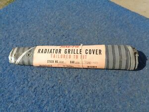 1938 Ford Truck Pickup Sure Fit Radiator Grill Cover Nos 1939