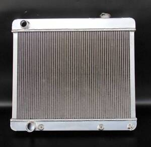 Fits 1961 1965 Cadillac Deville 3 Rows Core All Aluminum Radiator