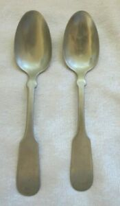 2 Antique Hall Elton Teaspoons