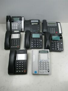 8 Business Office Telephone Units Rca Panasonic Tone Commander Work Phones