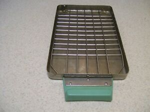 Scican Statim 2000 Lower Cassette Tray Wth Mesh Rack Dental Vet Autoclave Tattoo