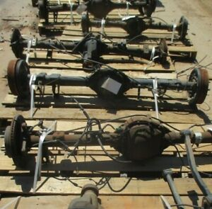 2003 Toyota 4 runner 2wd Rear Axle Assembly Oem 3 91 Ratio 52k