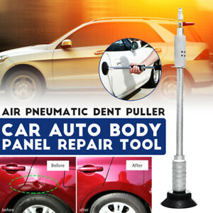 Car Auto Body Repair Air Pneumatic Dent Puller Suction Cup Slide Tool Hammer Kit