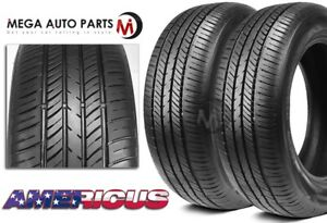 2 Americus Touring Plus 165 80r15 87t Premium All Season 60000 Mi Warranty Tire