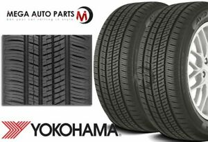 2 Yokohama Avid Ascend Gt 195 65r15 91h All season Tires 65k Mileage Warranty