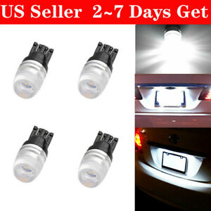 4pcs High Power T10 2323 1w Led Light Bulbs Xenon White 192 194 161 168 2825
